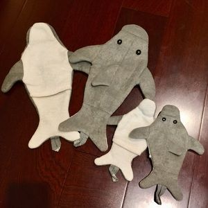 2/$20 NEW Dolphin Bath Glove Mitt (sock puppets)